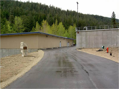picture of Powers Creek Water treatment plant frontage