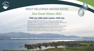 description of water rates