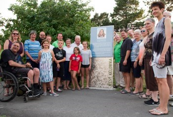 Annette Beaudreau Amphitheatre Dedication - by B. Aguiar