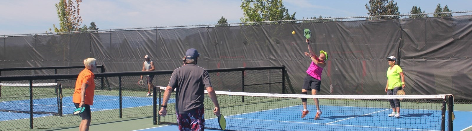 Pickleball at Mt. Bou Courts in May - CWK Image