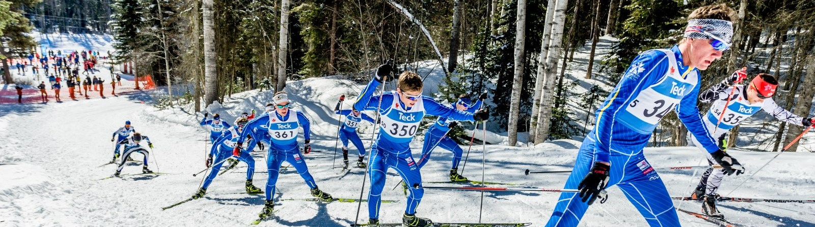 Cross Country Ski Race - by G. Robinson